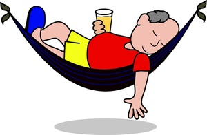Man In Hammock Clipart - Clipart Suggest