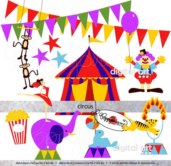 Clip Art School Carnival