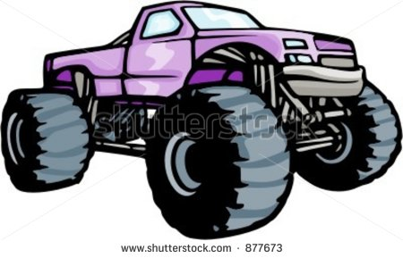 4x4 Truck Clipart 4x4 Monster Truck