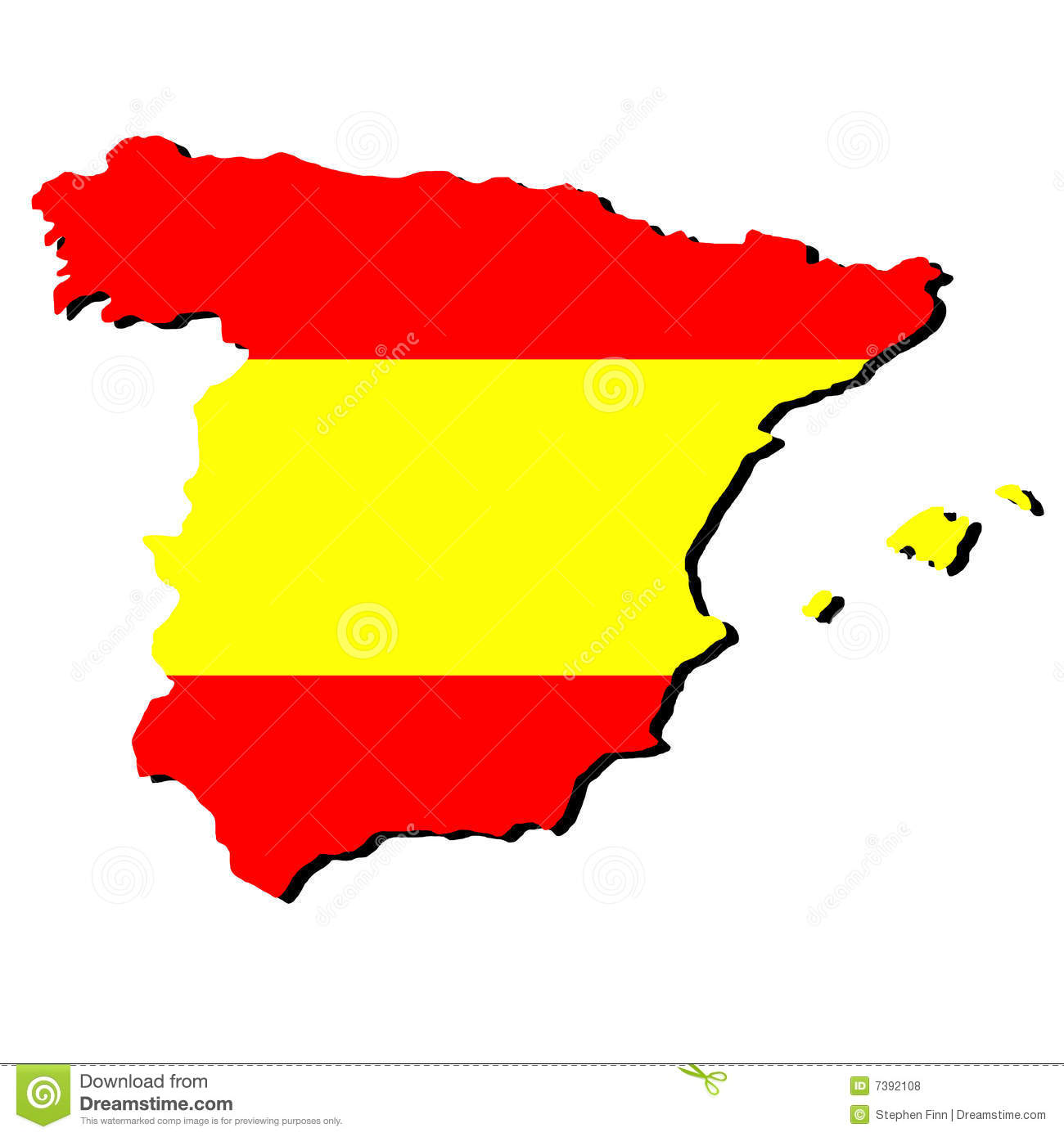 Atlantis Map Spain Clipart ...
