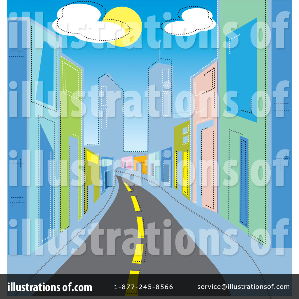 City Road Clipart - Clipart Kid