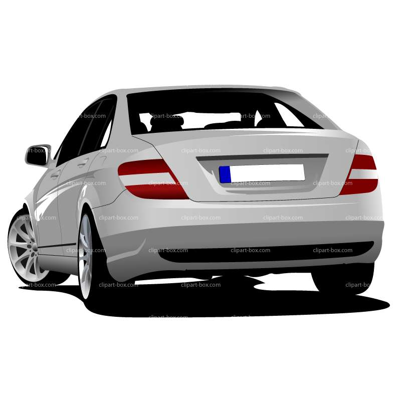 Back View Of Car Clipart - Clipart Kid