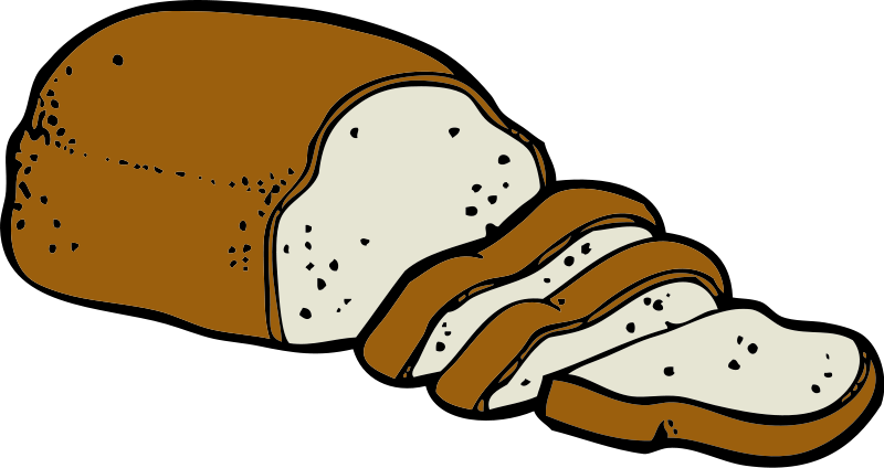 Food Clipart Pictures Png 96 36 Kb Bread Loaf Of Bread Food Clipart