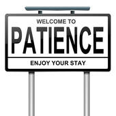 Patience Concept    Royalty Free Clip Art