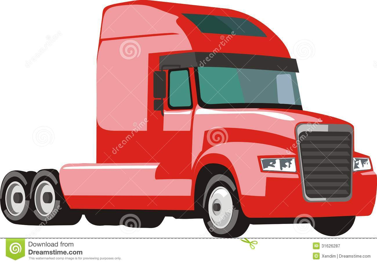 Truck And Trailer Clipart - Clipart Suggest