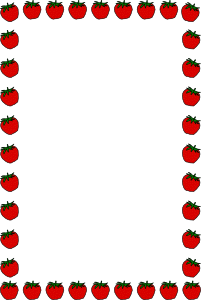 Strawberry Border Clip Art   Frame And Borders   Download Vector Clip