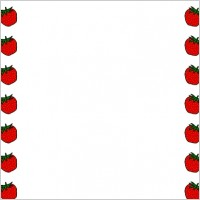 Strawberry Border Clip Art