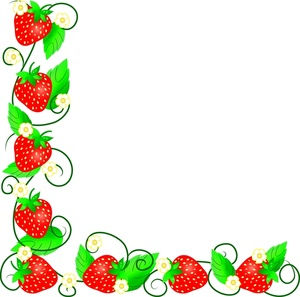 Strawberry Clipart Border Free Cliparts That You Can Download To You