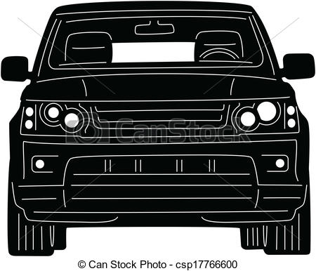 Vector Clipart Of 4x4 Truck   Illustration Of Great 4x4 Truck