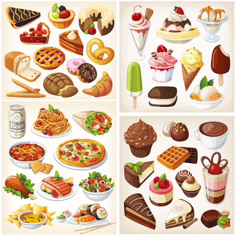 Fun Food Clipart - Clipart Kid