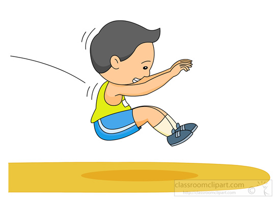 And Field Clipart   Long Jump Track Field 131   Classroom Clipart