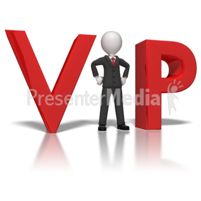 Businessman Vip   3d Figures   Great Clipart For Presentations   Www