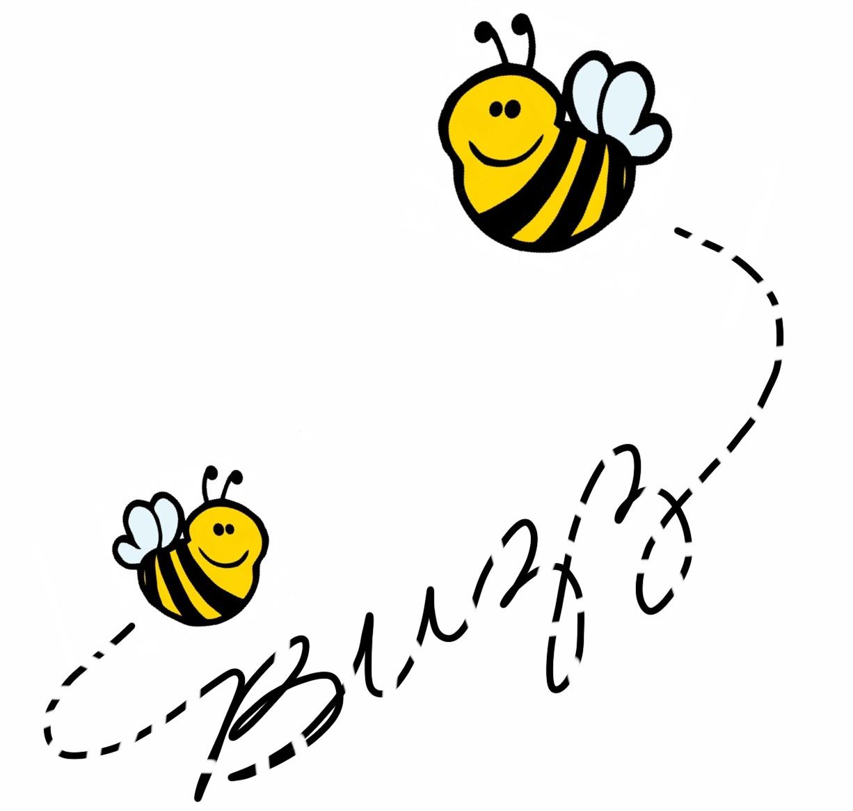 Buzzing Bee Clip Art Clipart   Free Clip Art Images