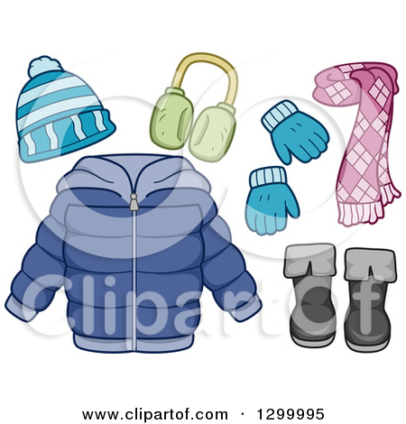 scarf and hat clipart clipart kid