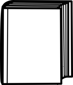 Closed Book Clipart Black And White   Clipart Panda   Free Clipart