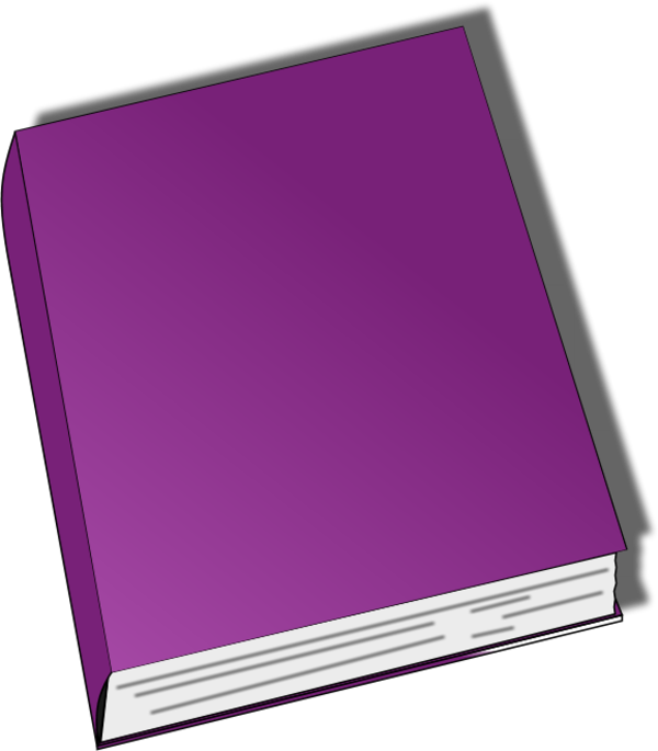 Purple Book Clipart - Clipart Suggest