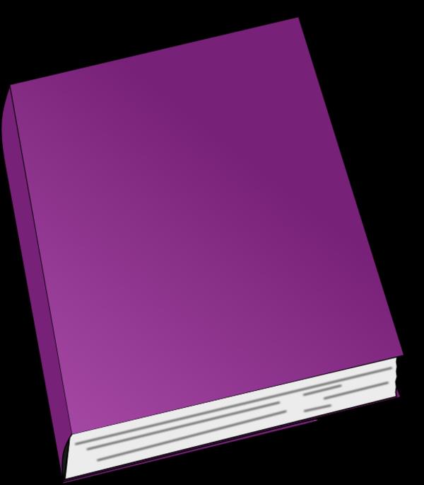 Purple Book Clipart - Clipart Suggest