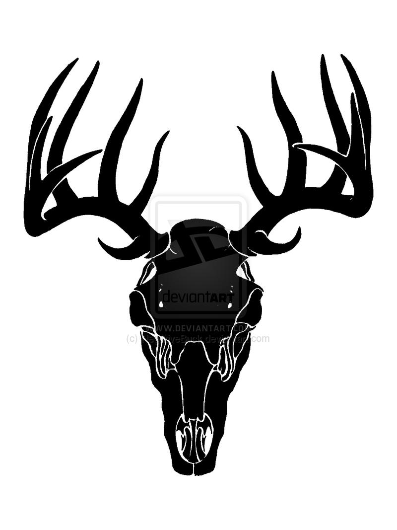 Buck Skull Clipart - Clipart Kid