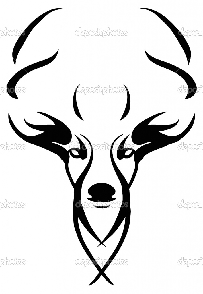 Deer Skull Drawings   Images Of Deer Skull Clip Art Pictures Wallpaper