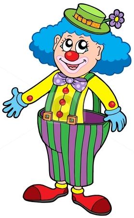 Funny Clown Clipart - Clipart Kid