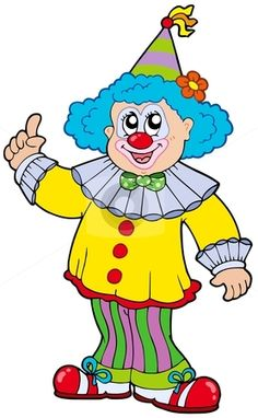 Funny Clown Clipart - Clipart Kid