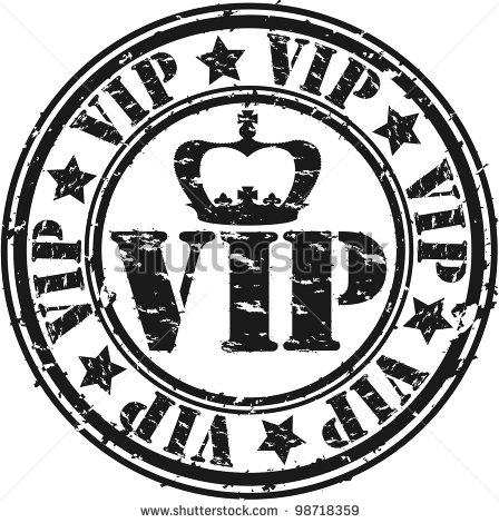 Grunge Vip Rubber Stamp Vector Illustration   Stock Vector