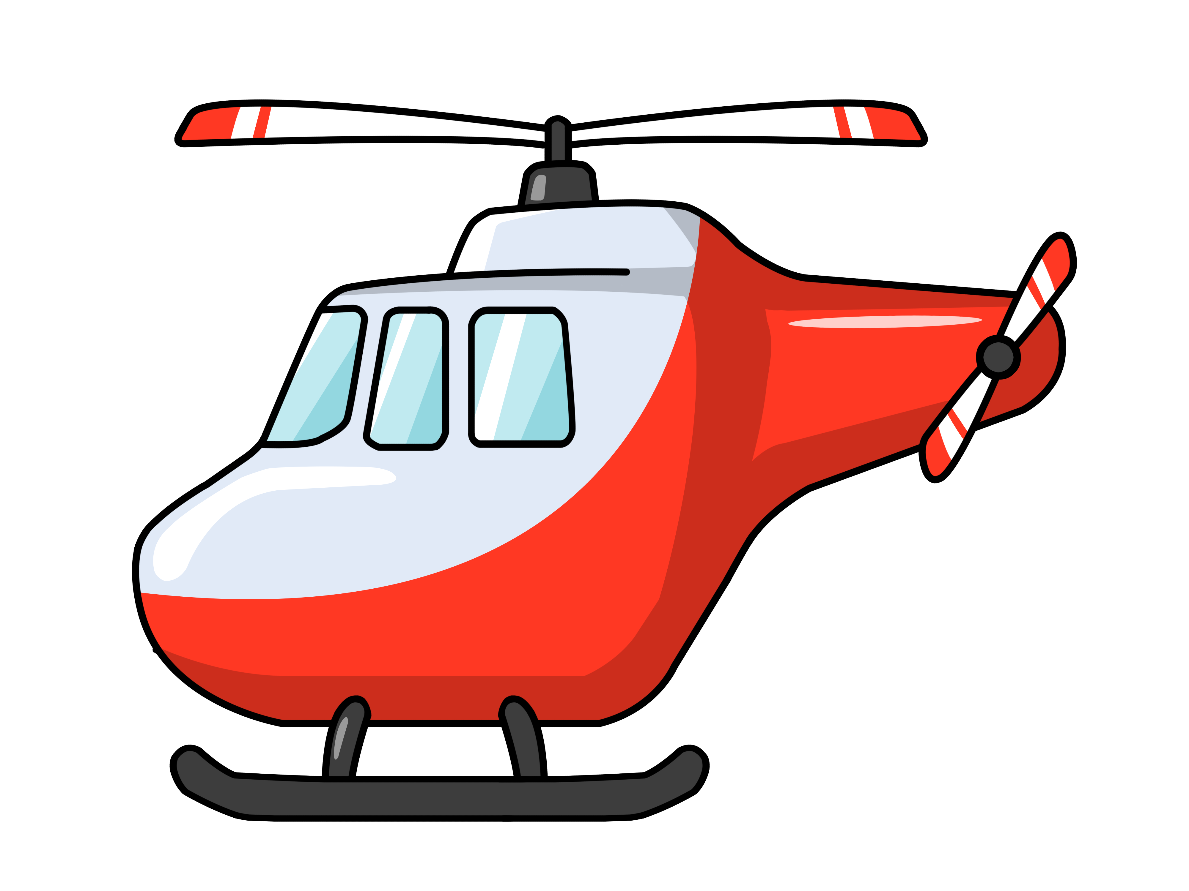 Clip Art Transportation Helicopter Clipart - Clipart Kid