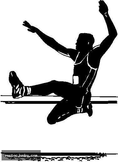 high jump clipart - photo #47