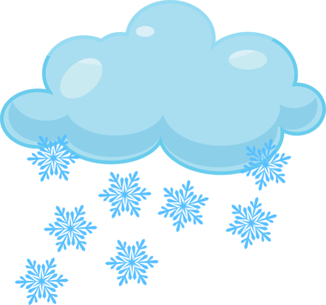 Snowy Weather Clipart - Clipart Kid