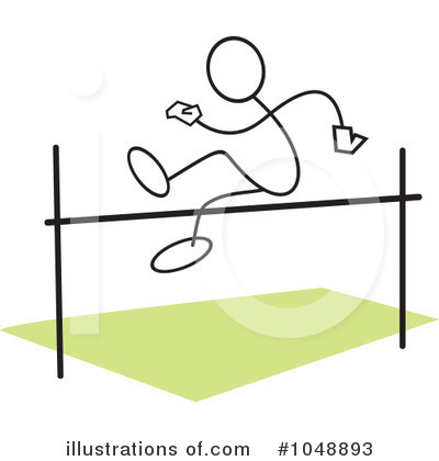 Royalty Free  Rf  High Jump Clipart Illustration  1048893 By Johnny