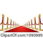 Vip Clipart 1093995 Clipart 3d Vip Red Carpet Royalty Free Vector