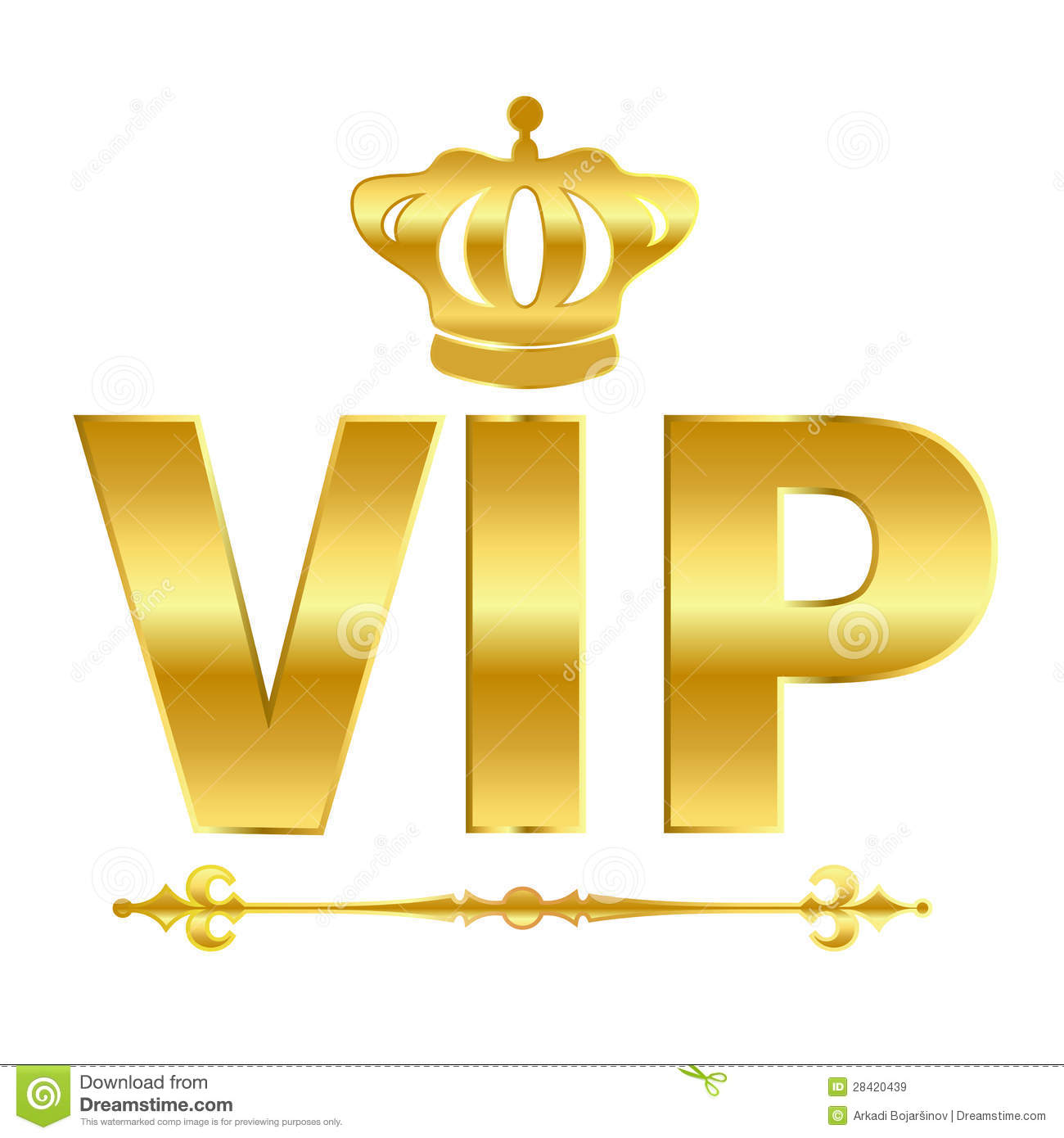 Vip Vector Symbol Royalty Free Stock Images   Image  28420439