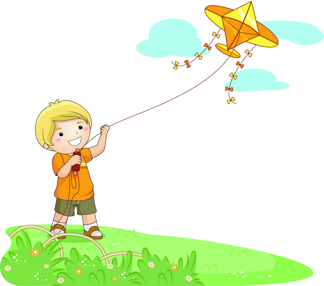 Windy Day Clipart - Clipart Kid