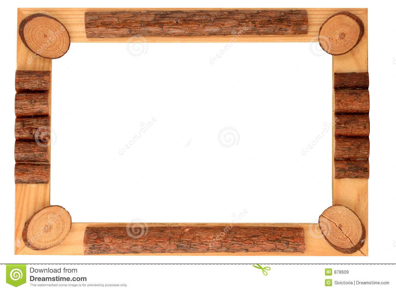 Wood Border Clip Art Wooden Frame And Border