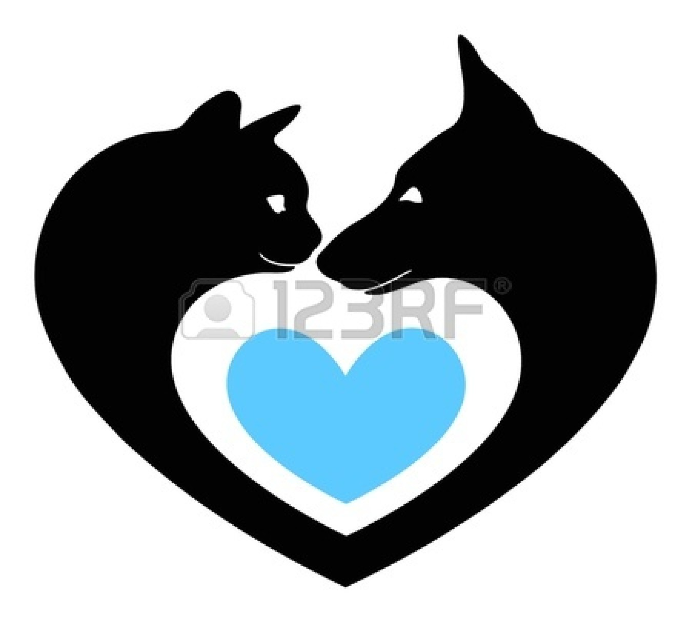 cat heart clipart - photo #18