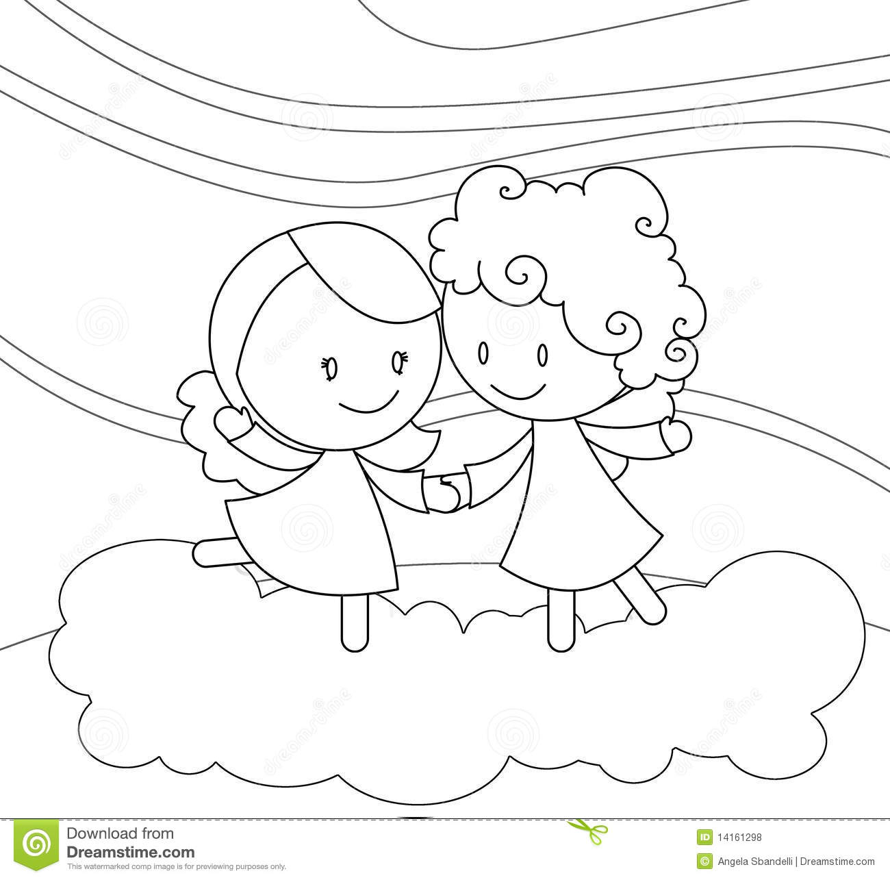 Baby Angel Clipart Black And White Gallery For Baby Angel Clipart