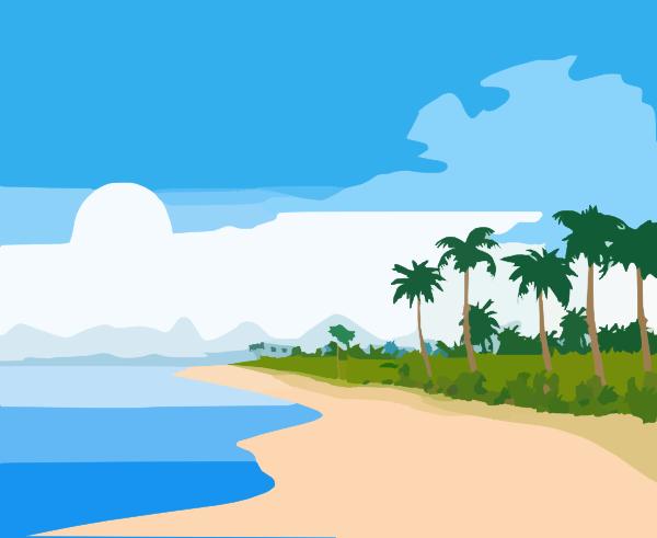Beach Clip Art At Clker Com   Vector Clip Art Online Royalty Free