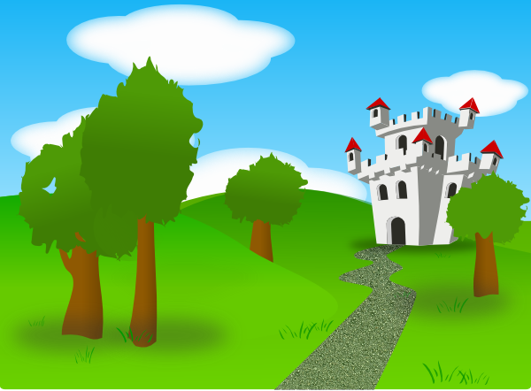 Cartoon Castle Clip Art At Clker Com   Vector Clip Art Online Royalty