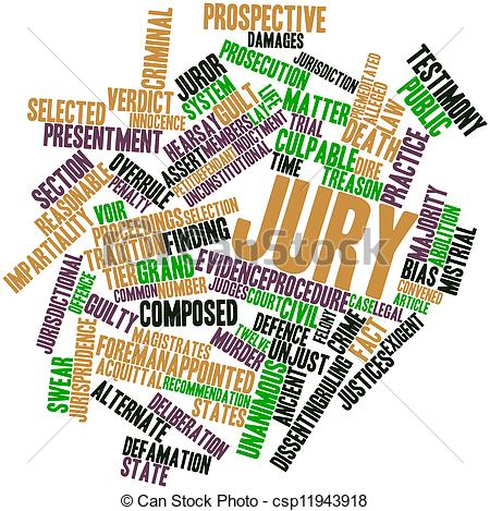 Jury Clipart Word Cloud For Jury Clipart