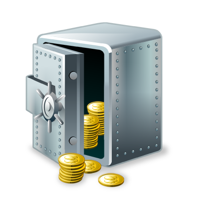 Keep Money Safe Vault Icon   Icon Search Engine