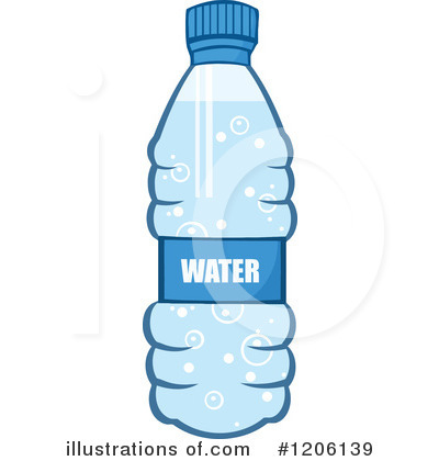 Water Bottle Black And White Clipart - Clipart Suggest