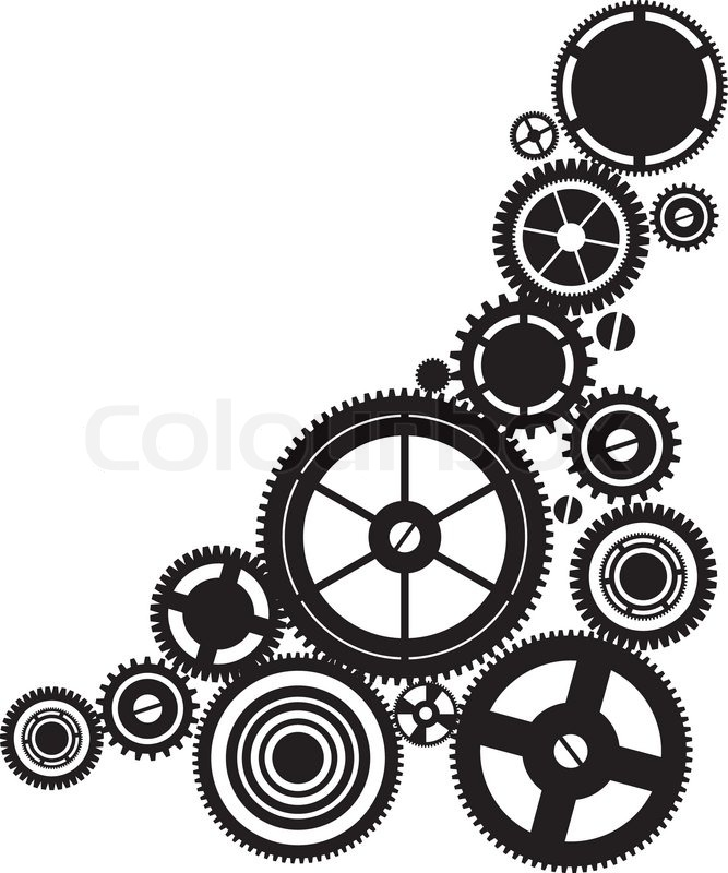 Steampunk Gears Clipart - Clipart Suggest