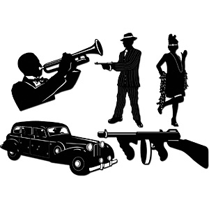 1920 Speakeasy Clipart   Cliparthut   Free Clipart