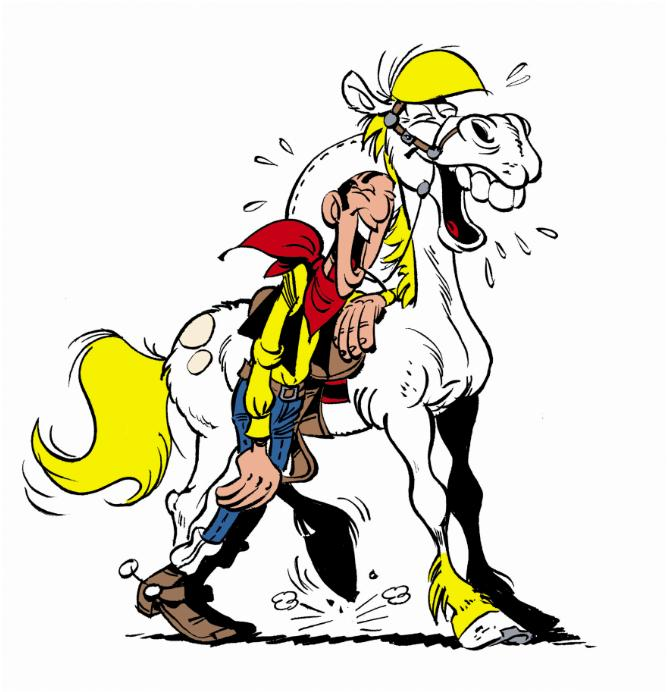 Cliparts   Lucky Luke Cliparts