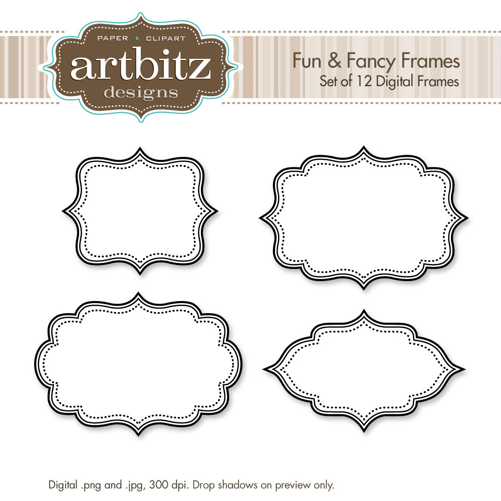 label frame template - photo #24