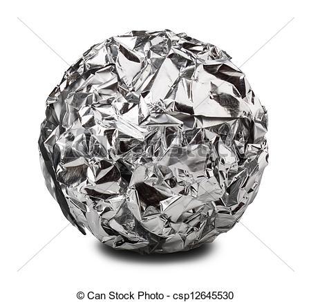 Foil Clipart Stock Photo   Aluminium Foil