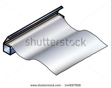 Foil Clipart Tinaluminium Foil   Stock