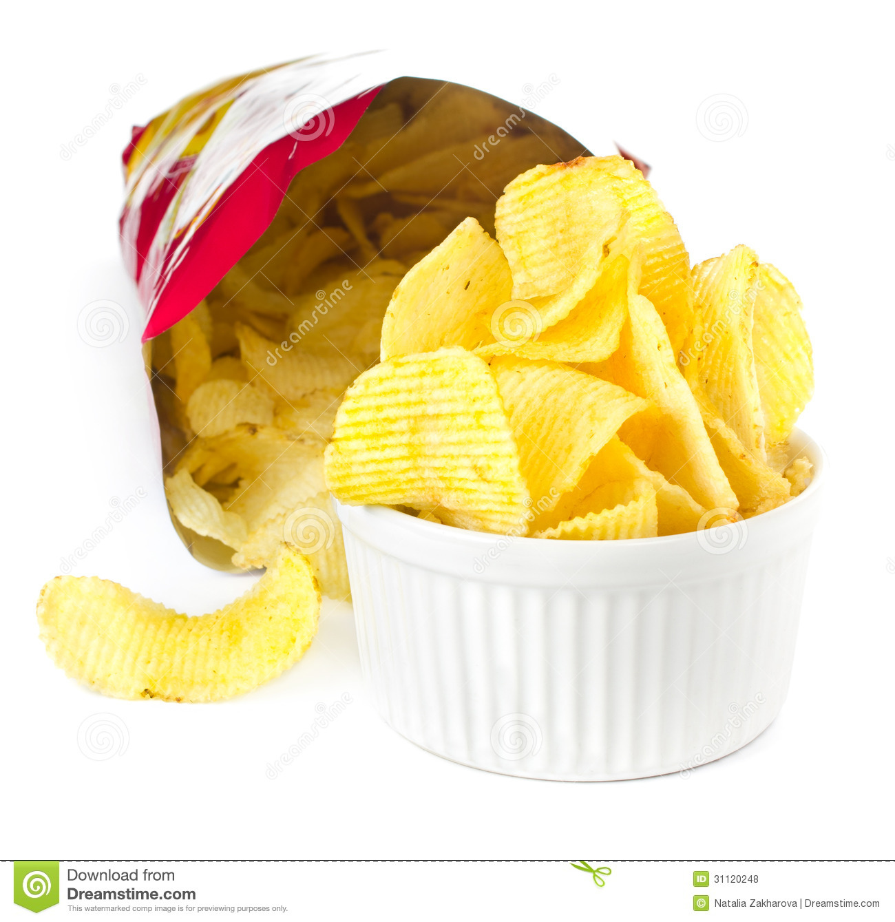 Bag Of Chips Clipart - Clipart Suggest