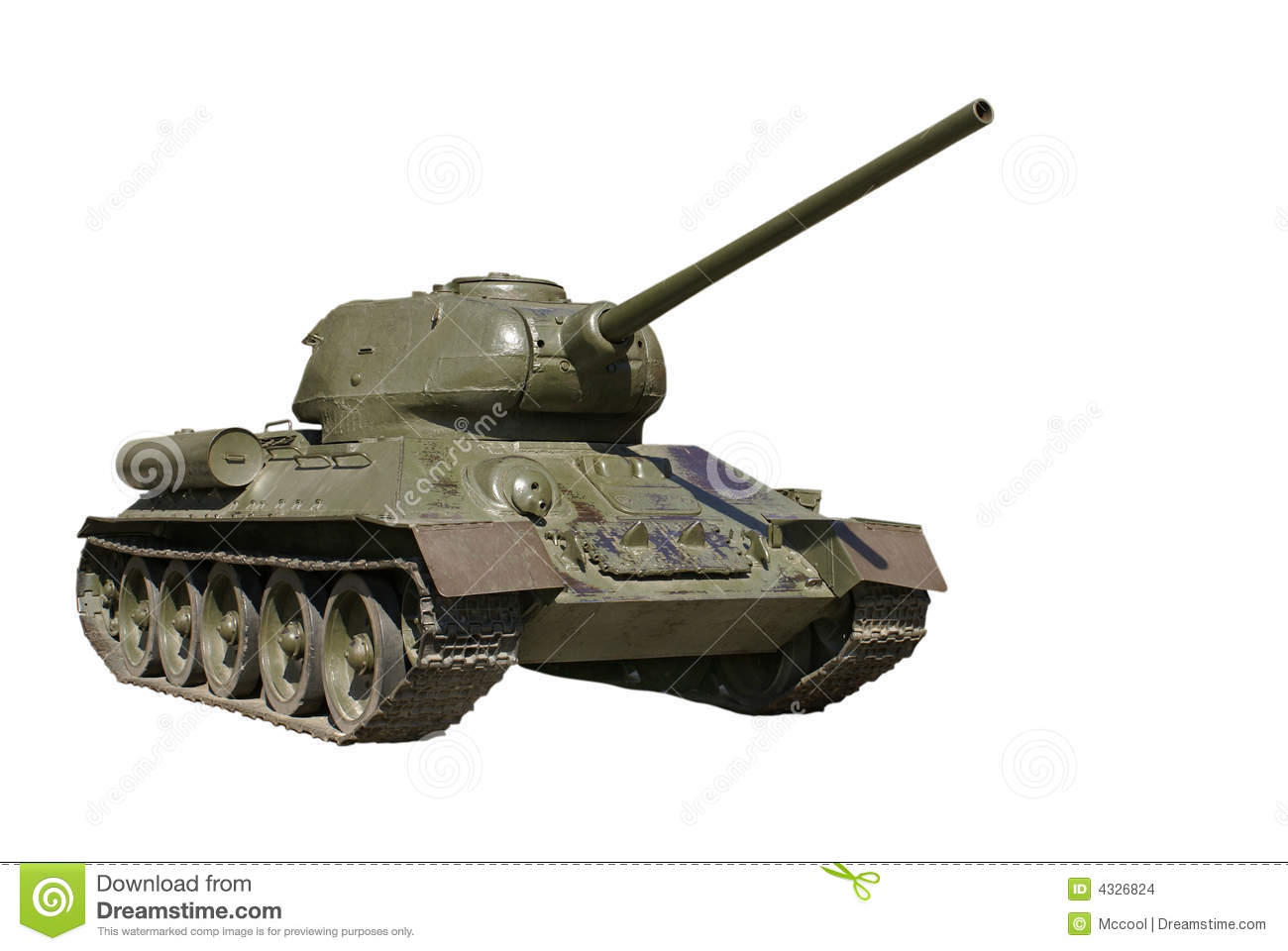 Heavy Tank Is Battle Tank  1943 45  From The Second World War  Wwii