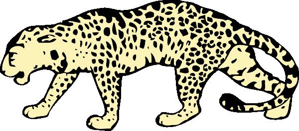 Leopard Clip Art At Clker Com   Vector Clip Art Online Royalty Free